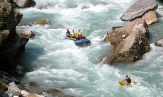 Rafting-in-Bhote-Khosi